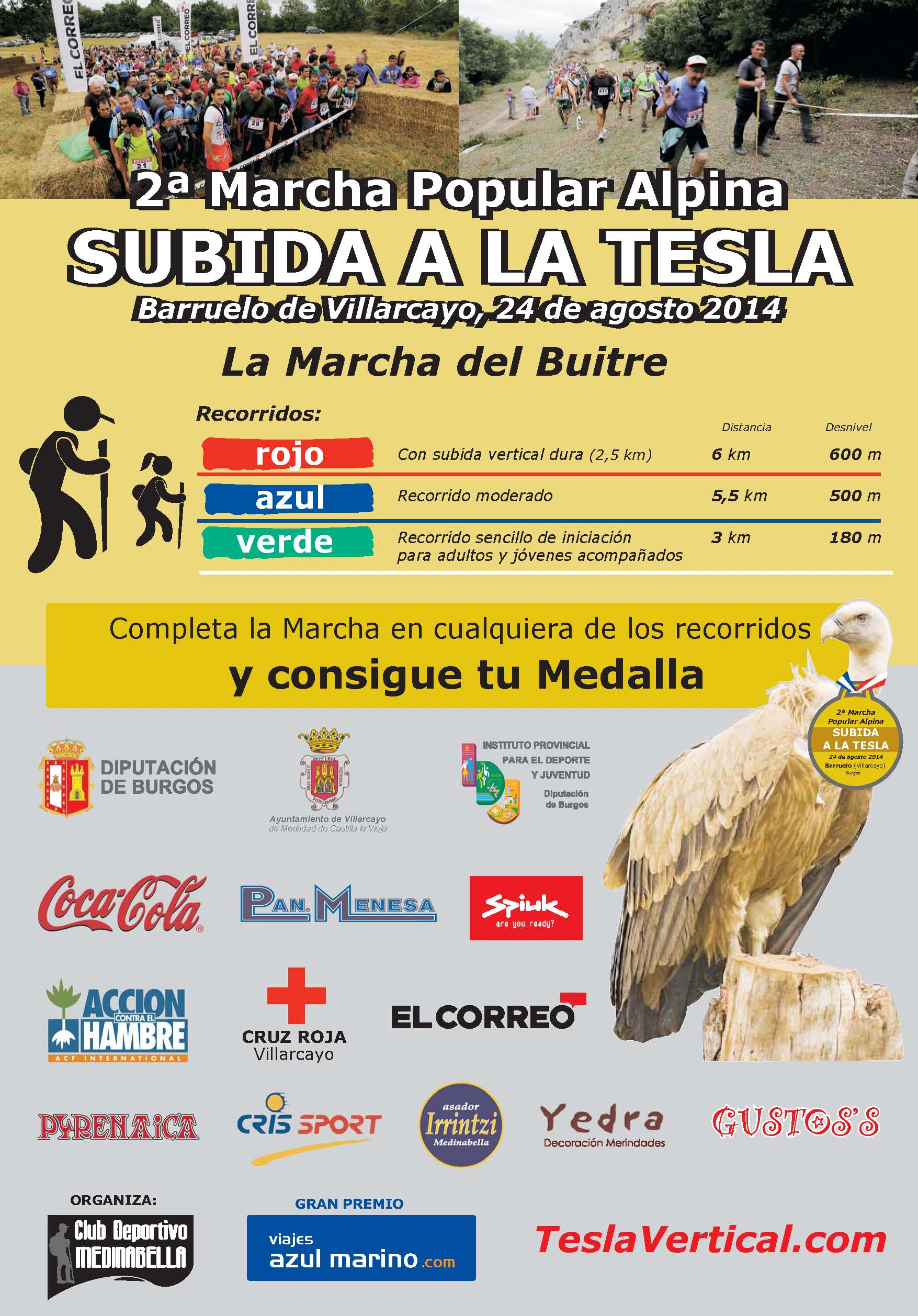 Cartel Tesla Vertical 2014 Definitivo