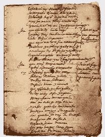 """Manuscrito """"Cantar del Mio Cid"""" conservado desde el siglo XIV"""